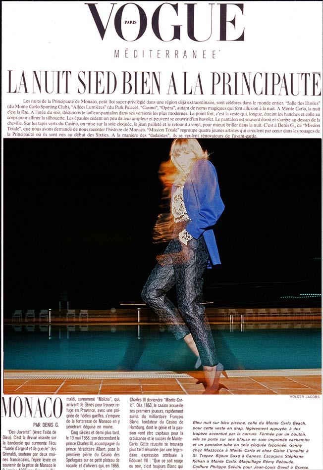 Vogue Monte-Carlo Beach Club - French VOGUE
