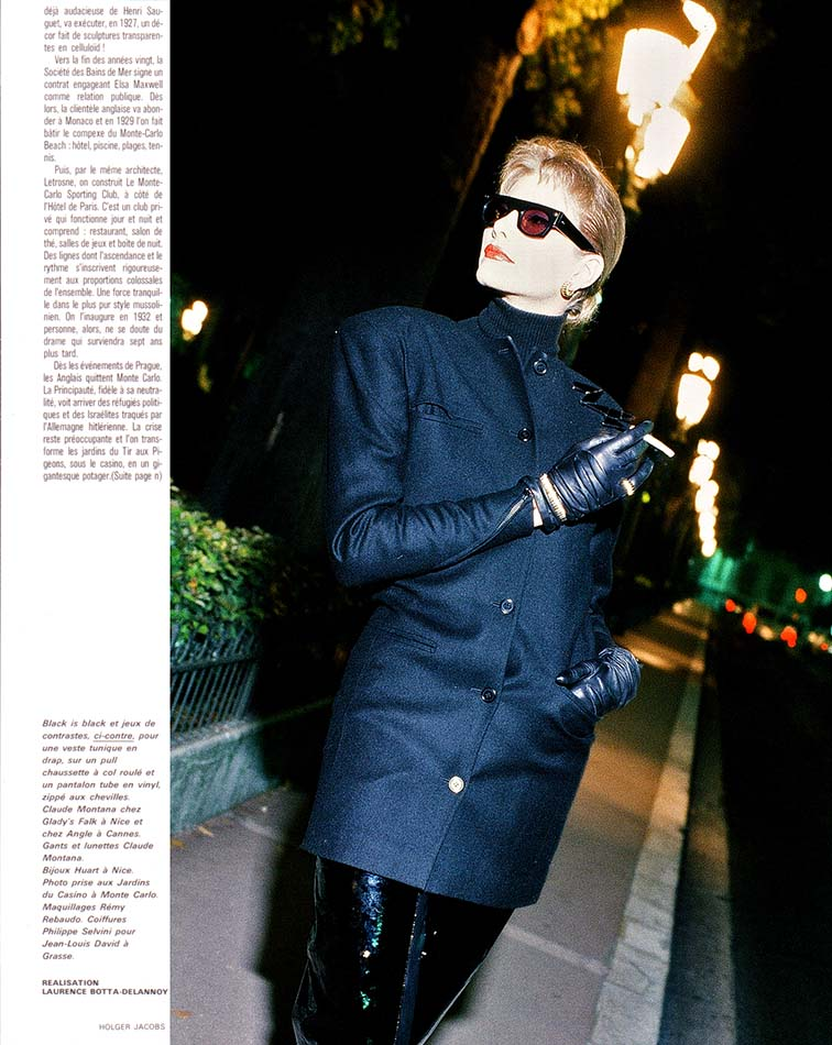 Claude Montana - Monaco - French Vogue