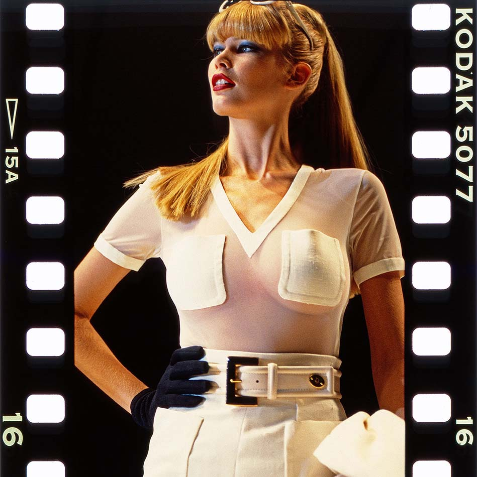 Claudia Schiffer SUPERMODELS photo: Holger Jacobs