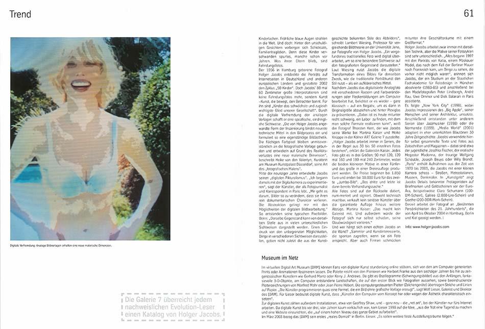Evolution Mag 2, Swimmingpool, Holger Jacoibs